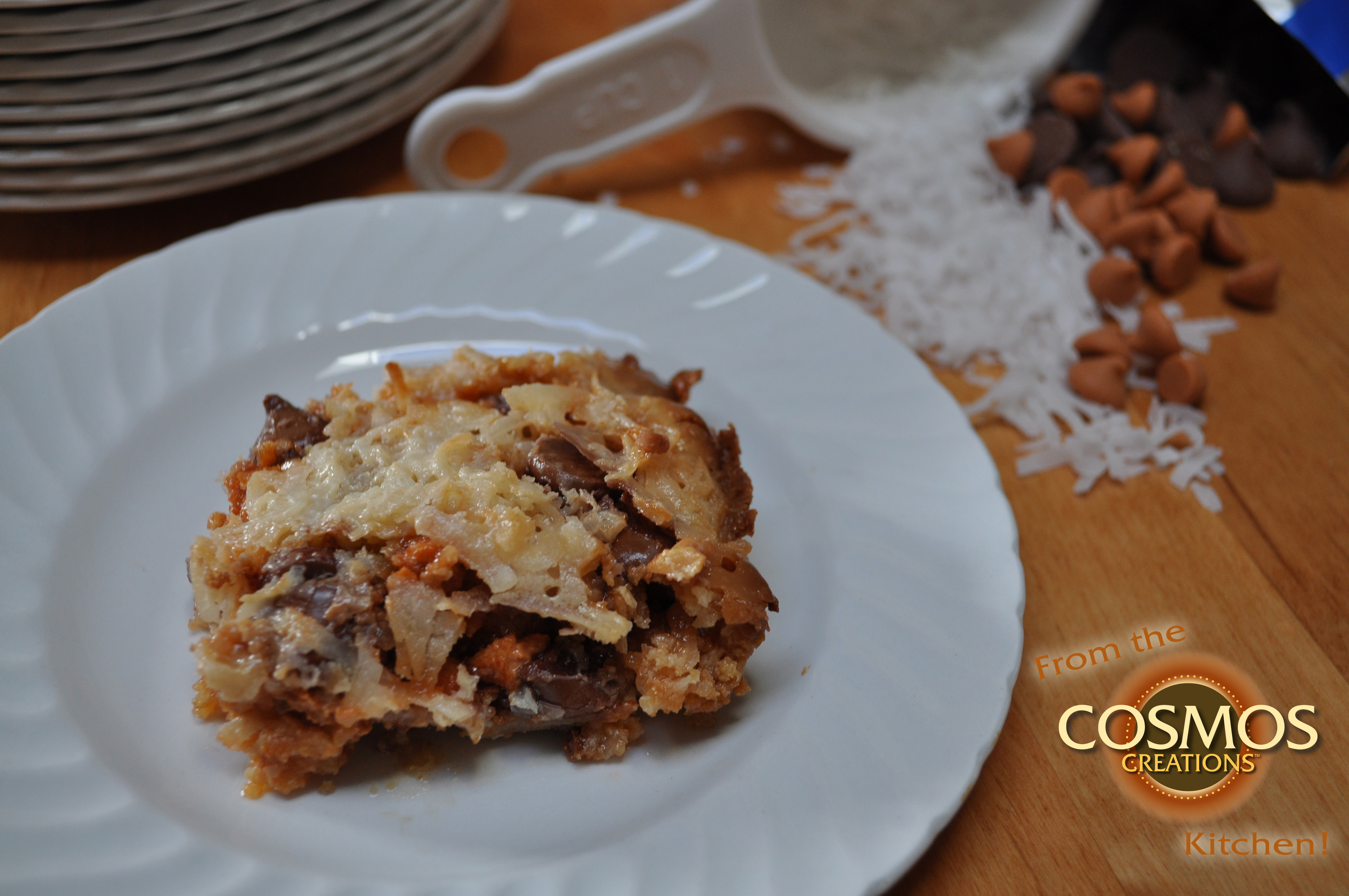 Magic Bars with Cosmos Creations